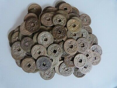 Vietnam / Annam -  Small Cash Coins  - Lots of 10