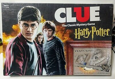 USAopoly CLUE Harry Potter Board Game complete excellent used condition