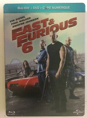 Fast and Furious 6 Steelbook Blu-ray