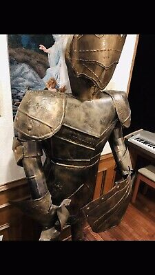 medieval knight statue,statue,tin Statue,garden Statue,knights,Decoration,6ft
