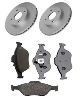New Ford Fusion JU 1.4 TDCi Genuine Mintex Front Coated Brake Discs Pair x2