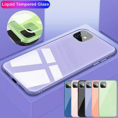 Hybrid Bumper Liquid Silicone Case Cover for iPhone 11 Pro Max XR XS X 7 8 Plus
