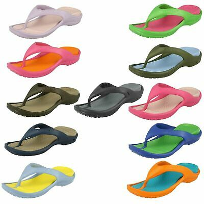 Childrens Unisex Crocs Open Toe Slip On Toe Post Synthetic Sandals Athens