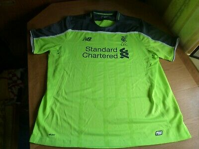 The Reds New Balance Liverpool FC 2016-2017 Away Shirt SIZE XXL (adults) EXC CON