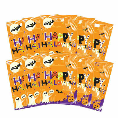 HALLOWEEN PARTY BAGS Spooky Trick Or Treat Sweet Candy Loot Bag Favour UK