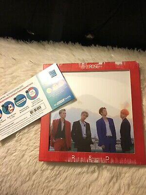 The ROSE 3rd Single Album RED CD + 16 Innercards [1 Group card] The Rose K-POP