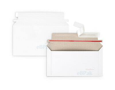 1000x Card Mailer DLX 130x240mm Tough Envelope 300gsm White