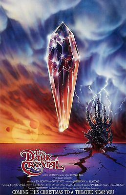 """The Dark Crystal movie poster (a)  : 11"""" x 17"""" inches : Jim Henson"""