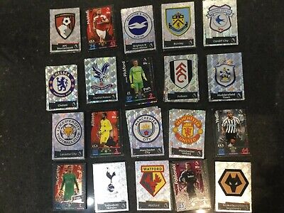Match Attax 18/19 bundle of 10 cards - You choose