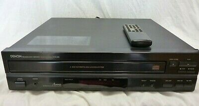 Denon DCM-260 CD Player/Changer with Remote