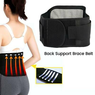 Lumbar AND Lower Back Support Belt Brace Strap/Pain Relief/Posture Waist Trimmer