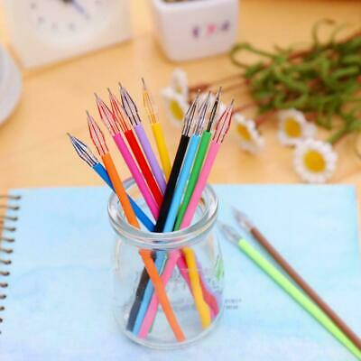 0.38mm Pen Refill Candy Color Rollerball Gel Pen School Stationery Supplies Z4S6