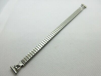 ROWI FIXOFLEX EXPANDING SILVER TONE STAINLESS STEEL 12mm WATCH STRAP BAND