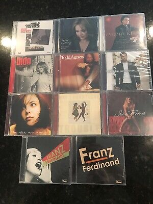 Lot of 11 Rock Country Folk Jazz Classical CDs - Brand New Sealed