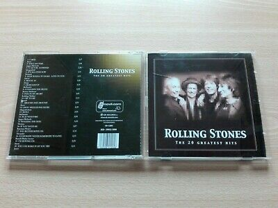 Rolling Stones – ''The 20 Greatest Hits''- Cd. The Original Songs.