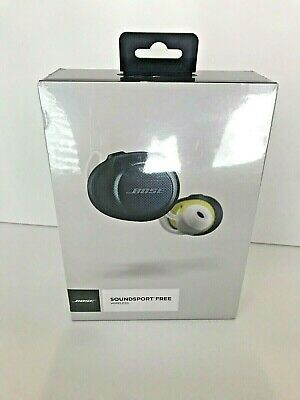 Authentic - Bose® - SoundSport® Free wireless headphones - Midnight Blue SEALED