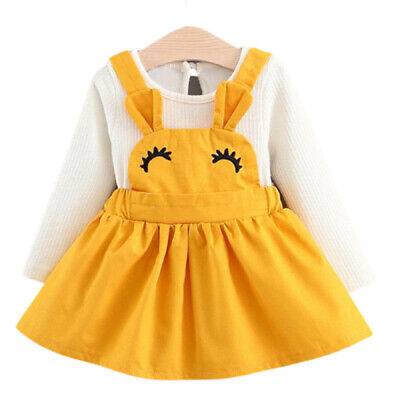 Baby Girl Dress Autumn Girls Kids Fashion Princess Birthday Baby Toddler Clothes