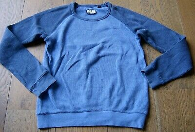 Indie By Industrie Boys 2 - Tone Blue Waffle Top / Windcheater Sz 12