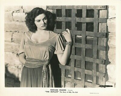JANE RUSSELL Original Vintage 1943 THE OUTLAW STORY OF BILLY THE KID RKO Photo