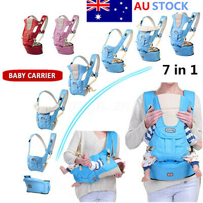 Adjustable Ergonomic Infant Baby Carrier With Hip Seat Stool Wrap Sling