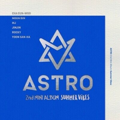 Astro-[Summer Vibes]2nd Mini Album CD+96p PhotoBook+1p Photo PostCard+Gift K-POP