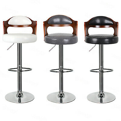 2 * Breakfast Bar Stools Broadway Vintage High Seat Chair Home Kitchen Home Pub