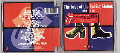 Cd Album -The Rolling Stones-The Best-Jump Back