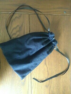 Jane Austen inspired regency reticule (black), ball, theatrical, re-enactment