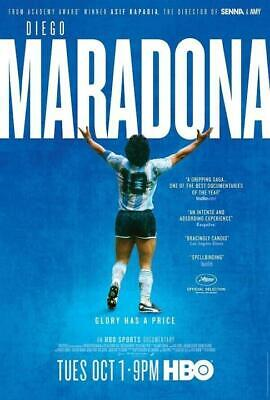 "Diego Maradona Movie Poster Soccer Football Film Art Print 13×20"" 24×36"" 32×48"""