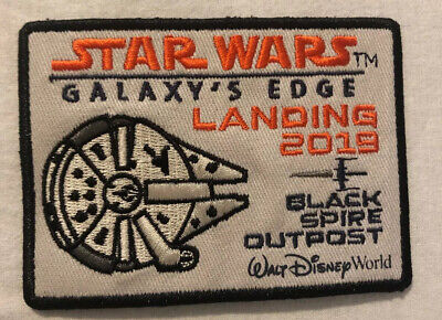 Star Wars Galaxy's Edge Black Spire Outpost Patch 2019 Hollywood Studios Disney
