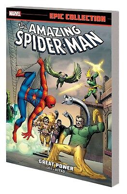 AMAZING SPIDER-MAN: GREAT POWER TPB Marvel Comics Epic Collection #1 TP