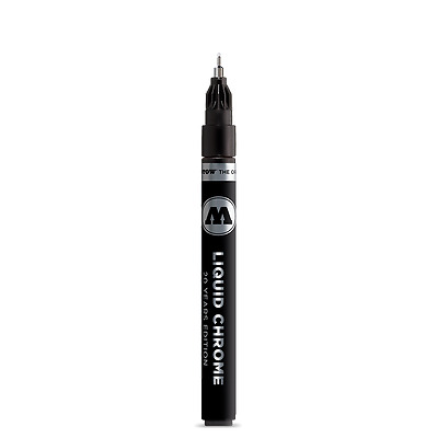 Molotow Liquid Chrome Markers 1mm 2mm 4mm Art Pens Markers Drawing Crafts