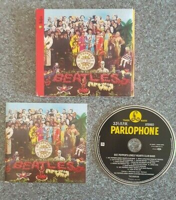 The Beatles - Sgt Pepper's Lonely Hearts Club Band (Enhansed Cd)