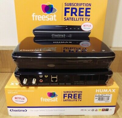 HUMAX 1100S 500GB PVR (Freesat+ HD) WiFi (Manufacturer Refurbished)