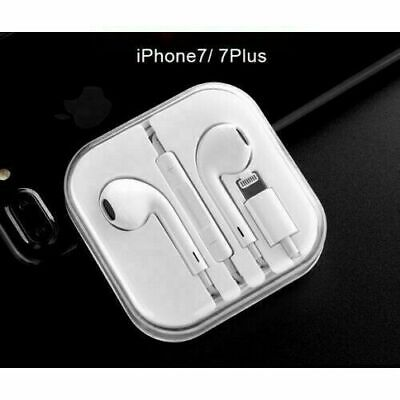 For Apple iPhone 7 8 Plus X Bluetooth Wired IN-EAR Headset Earphones Earbuds