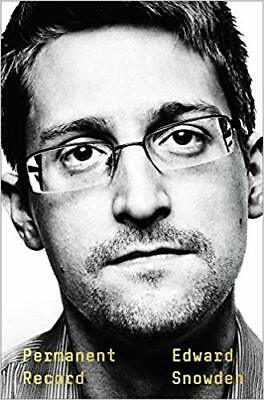 Permanent Record by Edward Snowden Social Activist Hardcover September 2019