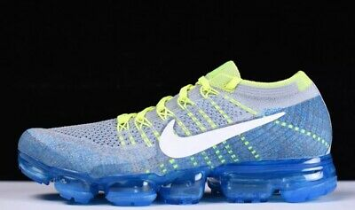 Nike Air Vapormax Flyknit-No Box Lid-Sz:us Men's 10.5  #849558 022 Retail: $190
