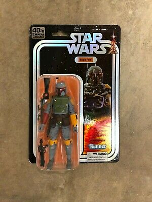 SDCC 2019 Exclusive Hasbro Star Wars Black Series Boba Fett Figure New Unopened