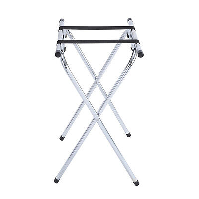 Winco TSY-1A, 31-Inch Chrome Foldable Tray Stand