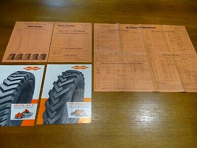 Antique Documents Paper Decorglitter-Kleber Doves Tyres 1959 and 1960