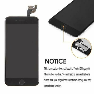 For iPhone 6 Screen LCD Replacement Display Touch Digitizer Button &Camera Black
