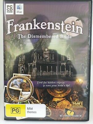 Frankenstein - The Dismembered Bride - PC CD-ROM, Hidden Object Game