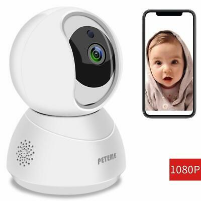 Peteme 1080P FHD WiFi IP Security Camera Wireless Indoor Camera with Motion