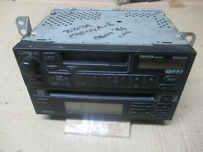 Toyota Carina E  Radio Stereo  Cassette Tape Cd Player From 1997 Year