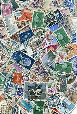 France Off-paper Stamp Lot Mix - 25 grams / 400 stamps