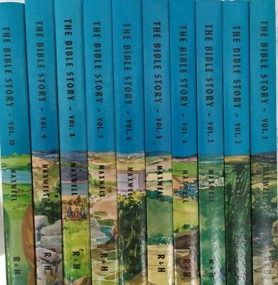 The Bible Story - 10 Volume Set - Arthur Maxwell. Stunning Quality Collectable!