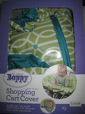 Boppy Shopping Cart Cover - Green