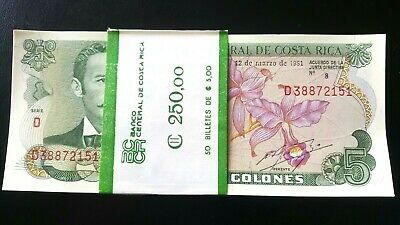 5 Colones Costa Rica 7-4-1983 P-236d UNC /> orchids seaport market
