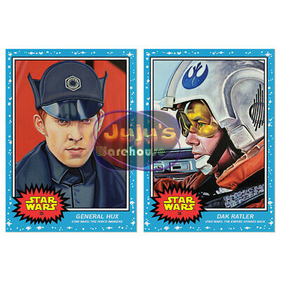 Topps Star Wars Living Set 2-Card Bundle #35-36 General Hux & Dak (Pre-sale)