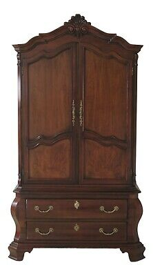 31308EC: CENTURY Country French Style Cherry Bedroom Armoire